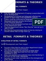 Retail Formats & Theories