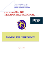 Occupational Therapy Student Manual