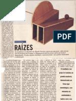 Ângela Ferreira. Escultura e Desenhos. O Independente Junho 1990