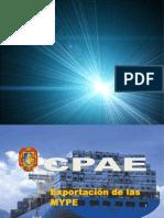 Exportación MYPE