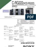 Sony+Mhc Rg222