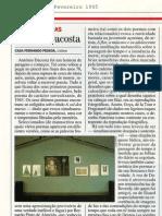 António Dacosta.  Por.  Visao, 09.02.1995