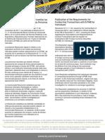 Tax  Alert - Resolución N° 11.11.04 Requisitos para tramitar operaciones en el SITME - PN