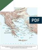 Les regions de Grècia