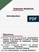 4.Positive Employee Relations
