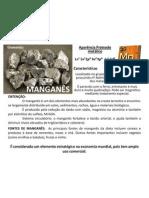 Manganês – Mn²
