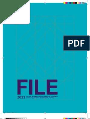 FILE 2011 Catalog | Gottfried Wilhelm Leibniz | Realidade
