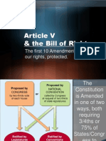Notes - Bill of Rights