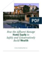 How Affluent Manage Home Equity to Build Wealth