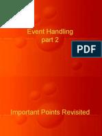 Event Handling 2