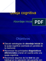 Queja Cognitiva (Version Final)