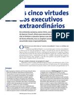 5 Virtudes Executivos Extraordinrios
