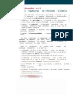Ficha sobre Principios de interação discursiva - Formas de Tratamento