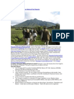 Gorilla Tracking Rwanda Hiking Trekking Safaris Volcanoes National Park