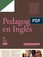 PEDAGOGIA EN INGLES 2012 - UAH