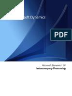 Inter Company Processing