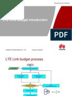 LTE Link Budget Introduction V1.0