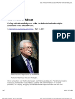 """The Wrath of Abbas - Newsweek"""