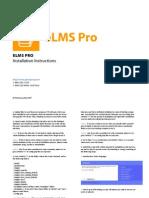 Elms Installation Instruction