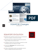 Equator Updates for KW