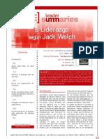 El Liderazgo según Jack Welch