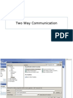 Two Way Communication 2