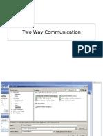 Two Way Communication 2