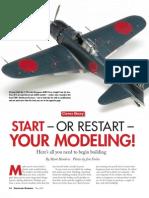 Start or Restart Your Modeling