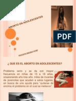EL ABORTO EN ADOLESCENTES