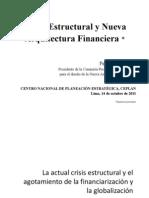 Crisis Estructural y Nueva Arquitectuta Financiera