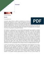 Message de La Fédération Galactique - Mike Quinsey - SaLuSa - 14 novembre  2011