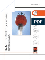 2010 Bambi Bucket Operations Manual vE (All Models)