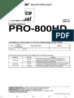 Pioneer Pro-800hd [ET]