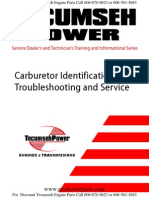 Tecumseh Carburetor Troubleshooting and Identification Guide