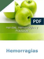 Herida, Hemorragia y Fractura