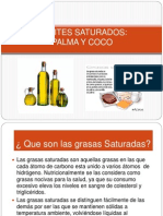 ACEITES SATURADOS