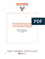Use of Polybutadiene Coagents Wire and Cable Compunds