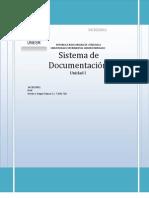 Sistemas de Documentación Unidad I