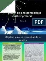 La gestión de la responsabilidad social empresarial