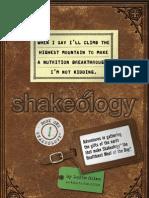 Shakeology Novel 1