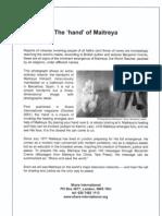 Hand of Maitreya