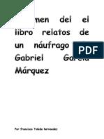 Resumen del el libro relatos de un náufrago de Gabriel García Márquez