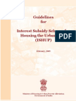 ISHUP Guidelines