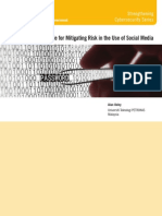 A Best Practices Guide for Mitigating Risk in the Use of Social Media