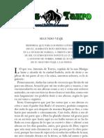 Colon, Cristobal - Diario de Abordo Segundo Al Cuarto Viaje