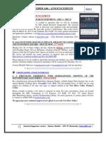 GSA Announcements November14th 2011