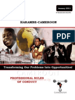 Harambe Cameroon - Professional Rules of Conduct