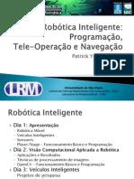 Robótica Inteligente - Dia1