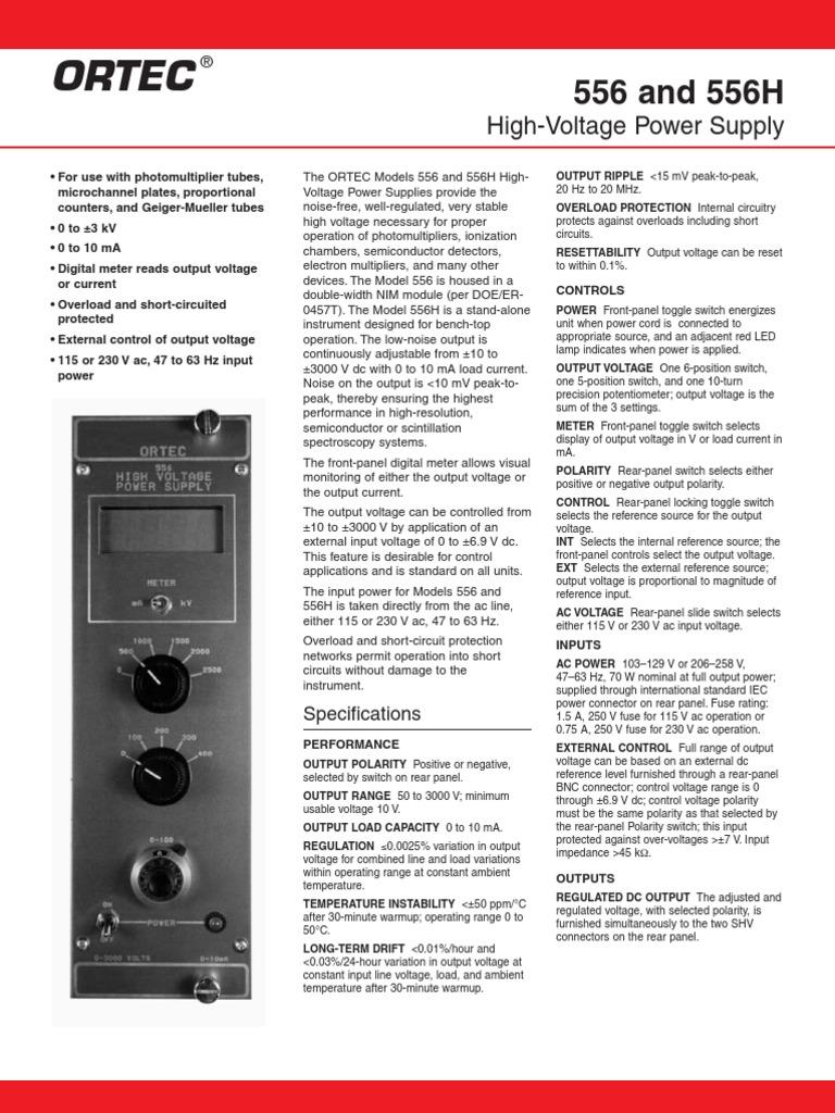 556 556h Power Supply Switch High Voltage 3000v