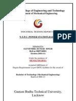 Satyendra ' s Report